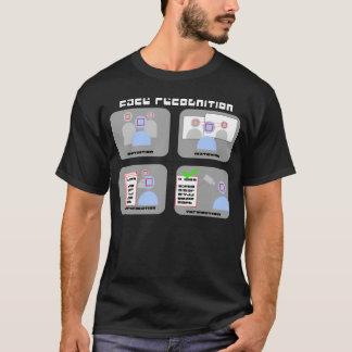 Gezicht Recognition T Shirt
