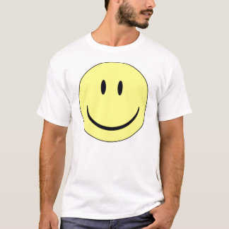 GEZICHT SMILEY T SHIRT