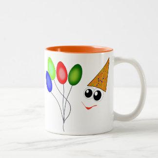 Gezicht Tweekleurige Koffiemok
