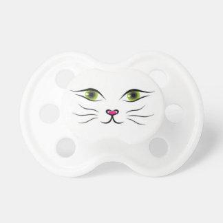 Gezicht van kat fopspeentjes