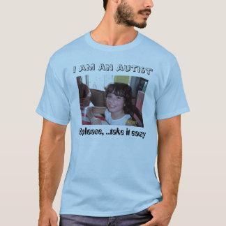 Gezichten van autisme t shirt