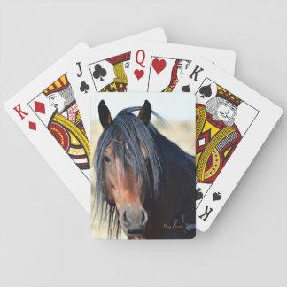 Gezichten van de Index van de speelkaart de Speelkaarten