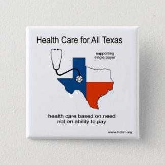 Gezondheidszorg voor Al Speld van Texas Vierkante Button 5,1 Cm