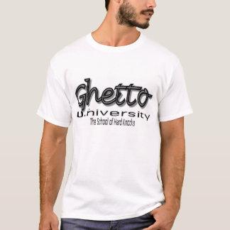 """Ghetto U. (Universiteit) het """"Afstudeerder van de T Shirt"""