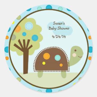 Giecheel de Schildpad van de Ronde Sticker
