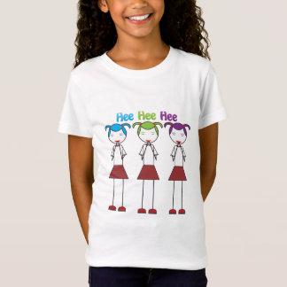 Giechelen van de Meisjes van Anime het Japanse T Shirt