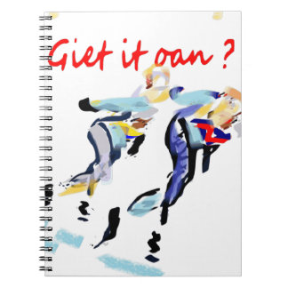 Giet it on ? ringband notitieboek