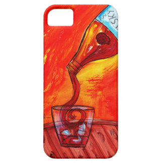Gietende Whisky Barely There iPhone 5 Hoesje