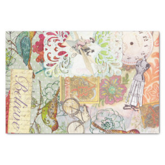 gift papieren zakdoekje 25,4 x 38,1 cm zijdepapier