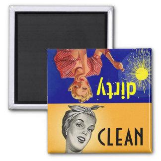 Gift van de Afwasmachine van de Helper van de Vierkante Magneet
