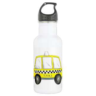Gift van de Cabine van de Stad van de taxi NYC de Waterfles