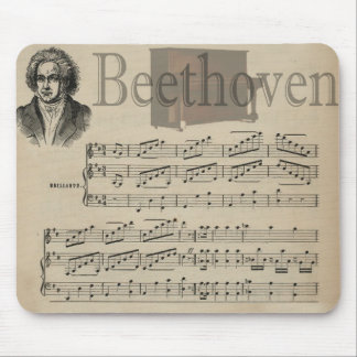 Gift van de Muziek van Beethoven de Klassieke voor Muismatten