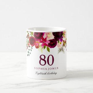 Gift van de Verjaardag Boho tachtigste van Koffiemok
