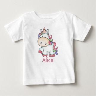 Giften van de Eenhoorn van Alice de Baby T Shirts