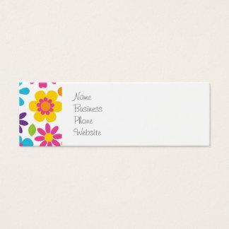 Giften van de Hippie van Flower power van de Mini Visitekaartjes