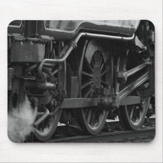 Giften van de Trein van de Motor van de stoom de V Muismat