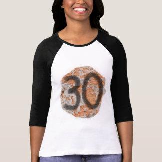 Giften van de Verjaardag van Graffiti de 30ste Tshirt