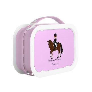 Giften voor meisjes - de liefdepaarden van I - dre Lunchbox