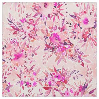 GIMME DAT Roze Wilde Bloemen Stof
