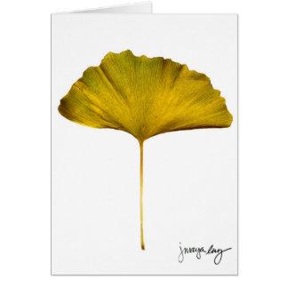 """""""Gingko"""" door J. Maya Luz Kaart"""