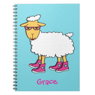 Ginny het schapennotitieboekje notitieboek