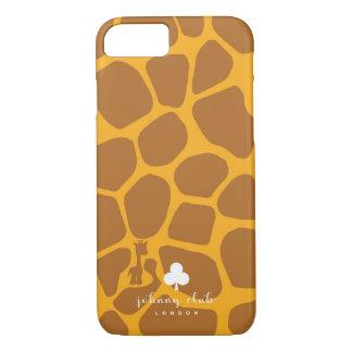 Giraf (bruin-Geel) iPhone 8/7 Hoesje
