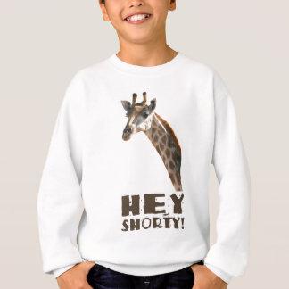 Giraf die u, lange shorty kerel bekijken - ja! trui