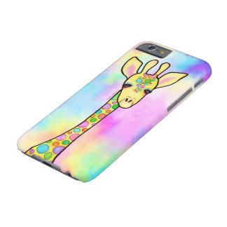 Giraf in de Regenboog Barely There iPhone 6 Hoesje