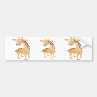 Giraf, leuk dier bumpersticker