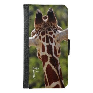 Giraf Samsung Galaxy S6 Portemonnee Hoesje