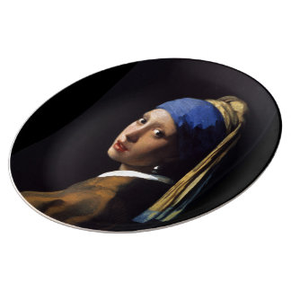 """Girl with a Pearl Earring"" Bord Van Porselein"