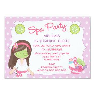 Girls Spa de Uitnodiging van de Partij van de