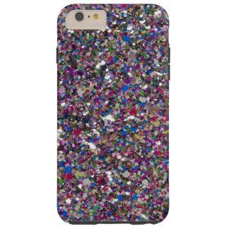 Girly schittert Taaie iPhone 6 van Fonkelingen Tough iPhone 6 Plus Hoesje