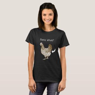 Gissing het Overhemd van Welke van de Kip van het T Shirt