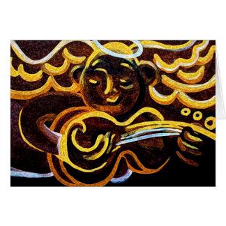 gitaar engel briefkaarten 0