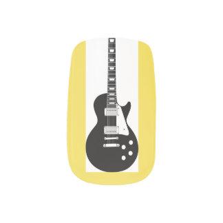 gitaar nagelversiering