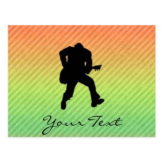 Gitarist Briefkaart
