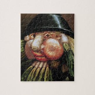 Giuseppe Arcimboldo; De groene Kruidenier, Puzzel