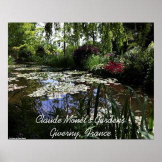 Giverny, Frankrijk - Tuinen van Claude Monet Poster