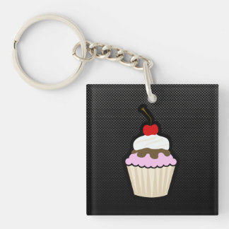 Gladde Cupcake Sleutelhangers
