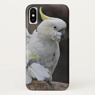 Gladstrijkend iPhone X van de Kaketoe Hoesje