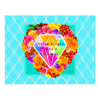 Glans Helder als een Diamant Briefkaart