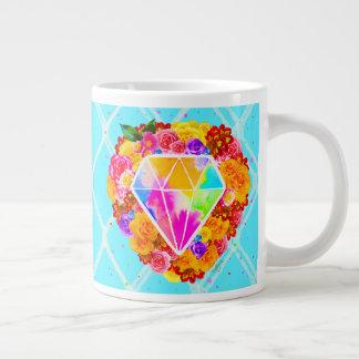 Glans Helder als een Diamant Grote Koffiekop