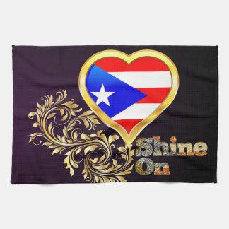 Glans op Puerto Rico Theedoek