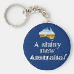 Glanzend Nieuw Australië Sleutelhangers
