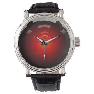 Glanzend Rood Horloges