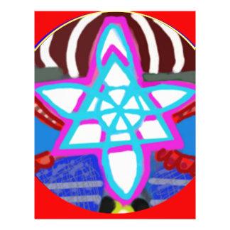 Glanzende Ster - Karuna Reiki NOSA Flyer 21,6 X 27,9 Cm