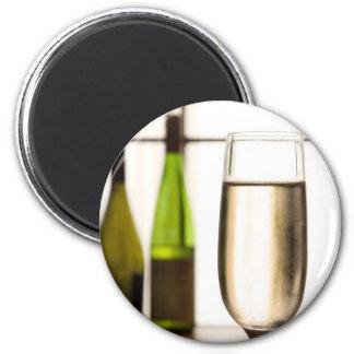 Glas van de Magneet van Champagne