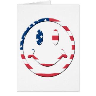 Glimlach Amerika Briefkaarten 0