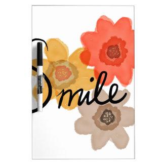 Glimlach Dry Erase Whiteboard